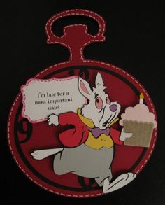 Disney rabbit...would be good for a belated birthday card