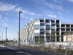 Ruche d'entreprises et parking silo de la Tossée - Tank Architectes