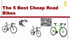 The 5 Best Cheap Road Bikes 2016 - Reviews and Guide