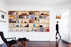 built-in cabinets & bookshelves