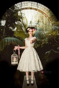 Cheap Wedding Dresses, Buy Directly from China Suppliers:Beautiful 2015 Hot Affordable Custom made vestido de noiva curto lovely Vintage Lace Tea Length Short Wedding Dress Ple Wedding Dress 2013, Lace Wedding Dress, Wedding Dress Pictures, Tea Length Wedding Dress, Tea Length Dresses, Wedding Bride, Lace Dress, Church Wedding, Dresses Dresses