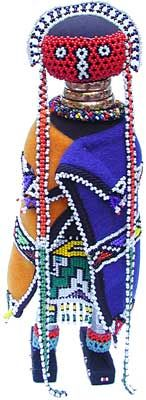 Linga Koba Doll  Ndebele Tribe  South Africa