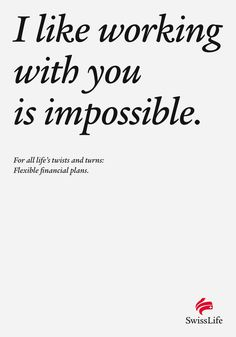 A great campaign for a life insurance company, especially when you consider how dry and boring the advertisements usually......