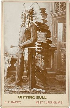 Sitting Bull, Hunkpapa Sioux cabinet card