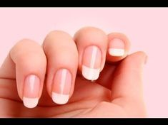 Fix Acrylic Nails Diy I share my bad experience of quick fix artificial nails and give tips on how to avoid beauty horror stories.Below are 18 Of The Best Natural Home Remedies And Treatments For Strengthening Weak Nails. Nail Care Tips, Manicure Tips, Nail Tips, White Manicure, Grow Nails Faster, How To Grow Nails, Diy Acrylic Nails, Diy Nails, Shellac Nails At Home