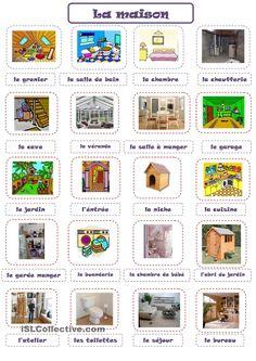 82 Best La Maison Et Les Meubles House Furniture Vocab Images In