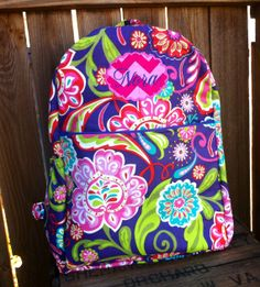 Personalized Chic Backpack with Zipper Closure  over by ChicBasics, $42.00