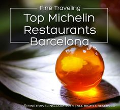 So you've been walking up and down the beautiful Barcelona streets, admiring all that Gaudi and you're ready for a fine meal? The following article will help you find the best restaurants in Barcelona according to the  Michelin restaurant guide.