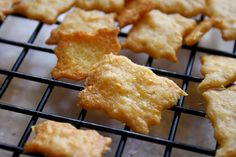 Homemade cheese crackers!  As good as CheezIts???    Note: made these and think next batch will try with a bit of salted butter brushed on after taking out of oven.  Also, don't bake until too brown.