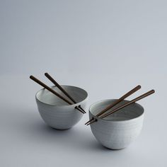 Maria de Haan Pair of rice bowls