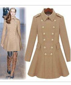 Tall Military Coat. Love! | Tall Womens Clothing | Pinterest