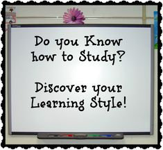 Do you really know how to study? Does how you study work well for you? Discover your learning style and tricks for studying smarter, not studying longer. Learning Style Test, Learning Style Inventory, Problem Based Learning, Student Learning, Differentiated Instruction Strategies, Instructional Strategies, Teaching Methods, Teaching Strategies, Teaching Ideas