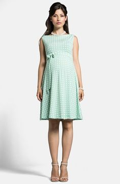 Leota 'Ilana' Sleeveless Maternity Dress available at #Nordstrom @Laura Kowalski You need this.