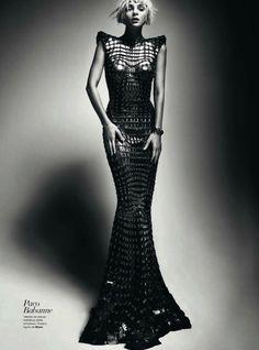 Jessica Stam  Txema Yeste  Harper's Bazaar Spain March 2012