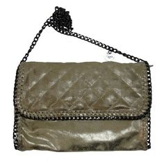 vimoda sac-pochette matelassé bordure chaine sur cpourl.fr #vimoda #cpourl