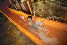 Take a ride on Totem Towers when you visit Great Wolf Lodge Williamsburg, VA.