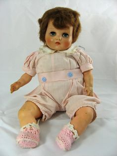 Horsman Baby Doll from 1940s by dolls456 ~ another gorgeous horsman