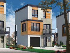 Détail du plan de Maison unifamiliale W1701