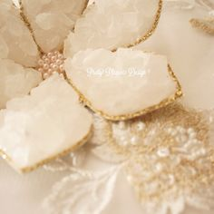 So Beautiful!  Sofreh Rock Candy Flowers by prettypleasedesign
