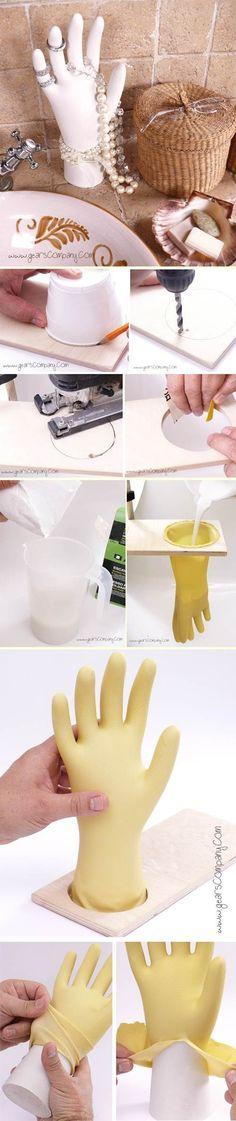 Jewelry plaster   DIY Stuff