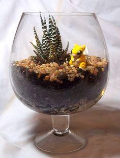 Pokemon Terrarium: Sandshrew by CadmiumCrab