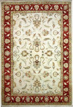 Beige Agra Carpet/Rug No. 4435  http://www.alrug.com/4435