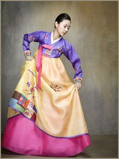 colorful hanbok~