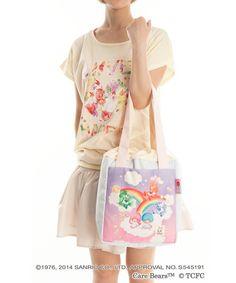 【2014】【LTS x Crystal Ball x Care Bears】【LOVE meets LOVE】Bag (¥9,900, 25.5×29×14cm) ★Little Twin Stars★