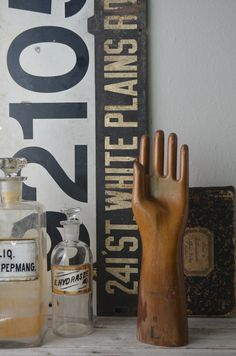 Vintage Wooden Glove Mold by housewarming101 on Etsy, $300.00