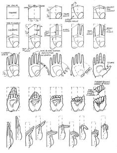 Drawing Tutorial Hand Design Reference 17 Ideas For 2019 Drawing Skills, Drawing Lessons, Drawing Techniques, Drawing Tutorials, Drawing Tips, Figure Drawing, Art Tutorials, Drawing Hands, Painting Tutorials