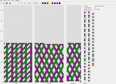 Koraliki tudzież: Wzory sznurów szydełkowo-koralikowych