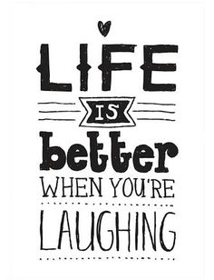 Laugh until you cry