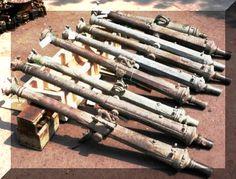 bronze Lantaka cannons