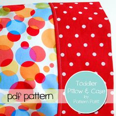 Toddler/Travel Sized Pillow & Case