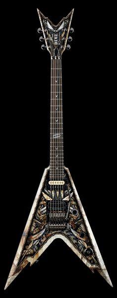 Dean Dimebag Razorback V 255 Electric Guitar