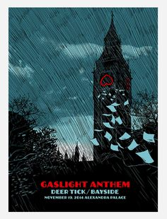 Gaslight Anthem poster