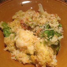 PammiesPantry.com | Broccoli and Cauliflower Bake