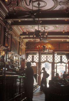 "Gueorgui PinkhassovLegendary cafe ""A Brasileira"". A mythological meeting place for the Lisbon intelligencia."