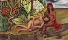This was a gift Frida Kahlo gave to her intimate girlfriend, Mexican movie start Dolores del Rio. Diego Rivera, Edward Hopper, Renoir, Frida Kahlo Exhibit, Kahlo Paintings, Whistler, Frida And Diego, Mexican Artists, First Art