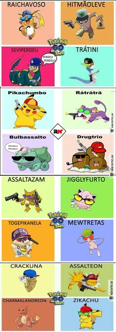 pokemons regionais