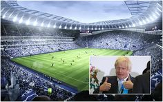 Tottenham+move+closer+to+£400 million+new+home+as+stadium+plans+are+approved+by+the+Mayor+of+London
