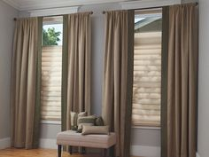 I love the looks of these drapes and wish I had some for my home. I like that the top is still open so some light can still get through. I might have to try this out and see if I can tell a difference in lighting.