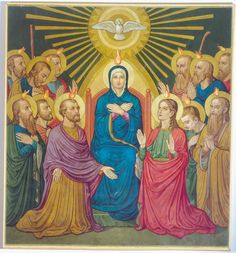 The Descent of the Holy Ghost by Fr. Bonaventure Ostendarp