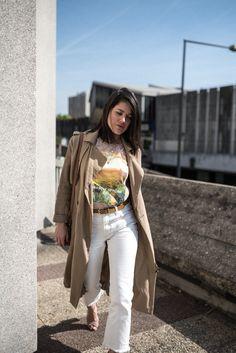 look boyfriend blanc trench long l'atelier d'al blog mode lifestyle Paris