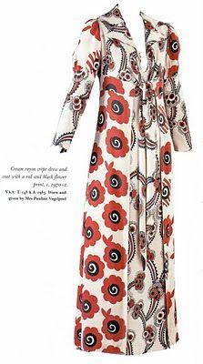 Ossie Clark - Celia Birtwell print