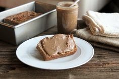 paleo banana bread with bacon pecan butter