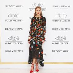 Olivia Palermo is wearing Preen by Thornton Bregazzi and Christian Louboutin shoes, both from Brown Thomas. The Ciaté London X Olivia Palermo Collection is available exclusively in our Dublin store and online, BrownThomas.com