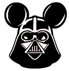 Star Wars Mouse darkside the force mouse by DoodleMouseCreations