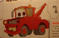 "A few ""Cars"" Cross Stitch"