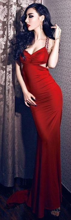 d0f9d1ae5ce red glam gown I really wish I could pull this off